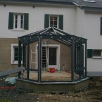 Fabrication Véranda - Projet 2 Houffalize Province du Luxembourg