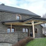 Fabrication Véranda - Pojet 4 Bastogne province du Luxembourg