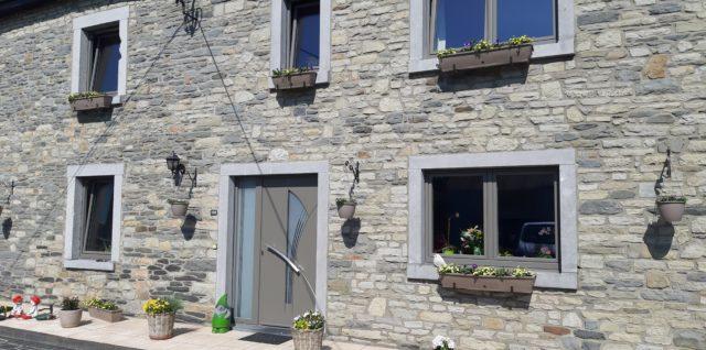 Rénovation de châssis PVC à Recogne Bastogne